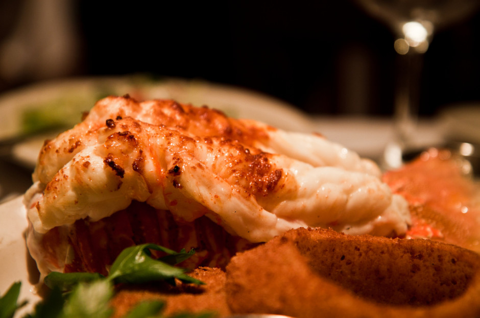 Broiled Lobster Tail with Brown Butter Sauce - Intense WordPress Plugin